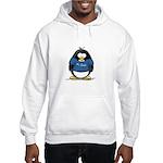 Best Dad penguin Hooded Sweatshirt