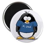Best Dad penguin Magnet