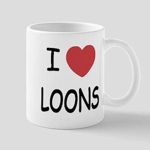 I heart loons Mug