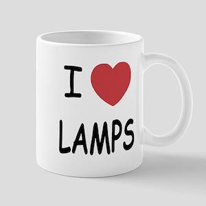 I heart lamps Mug