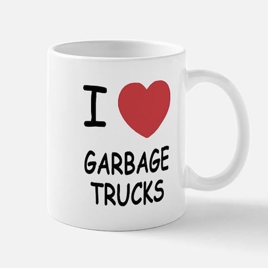 I heart garbage trucks Mug