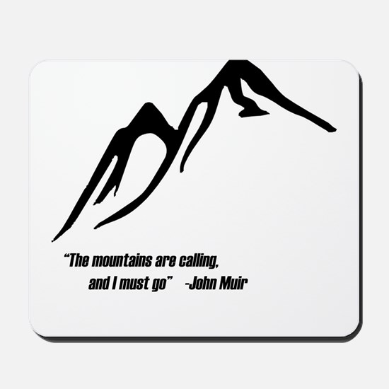 Mountains Calling Mousepad