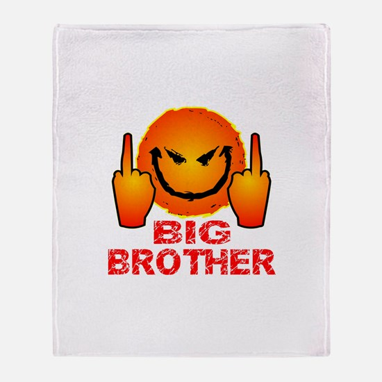Eff Off Big Brother Throw Blanket