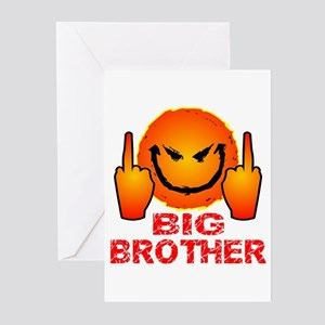 Eff Off Big Brother Greeting Cards (Pk of 20)