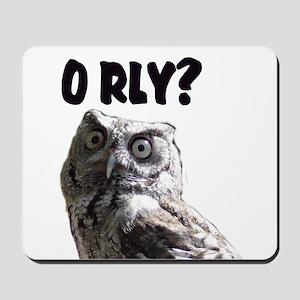 O RLY? Mousepad