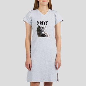 O RLY? Women's Nightshirt