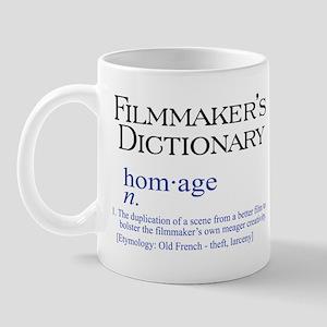 Film Dictionary: Homage Mug