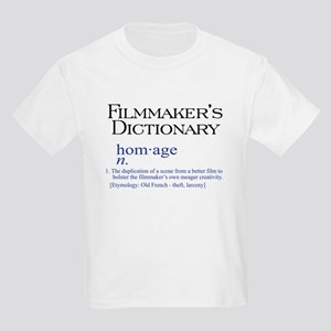 Film Dictionary: Homage Kids T-Shirt