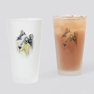 COLLIE - DOG Drinking Glass