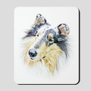 COLLIE - DOG Mousepad