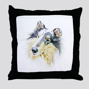 COLLIE - DOG Throw Pillow