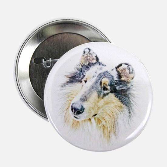 """COLLIE - DOG 2.25"""" Button"""
