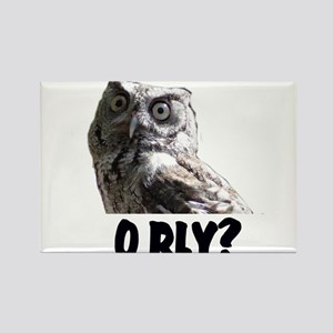 O RLY? Rectangle Magnet