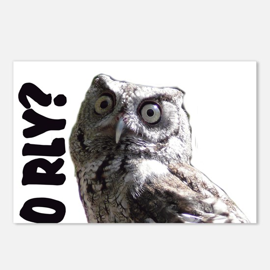O RLY? Postcards (Package of 8)
