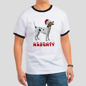 Naughty Foxhound Ringer T