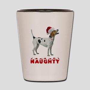 Naughty Foxhound Shot Glass