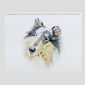 COLLIE - DOG Wall Calendar