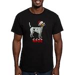Nice Foxhound Men's Fitted T-Shirt (dark)