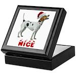 Nice Foxhound Keepsake Box