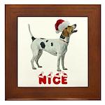 Nice Foxhound Framed Tile