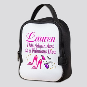 TOP ADMIN ASST Neoprene Lunch Bag