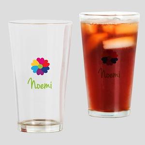 Noemi Valentine Flower Drinking Glass