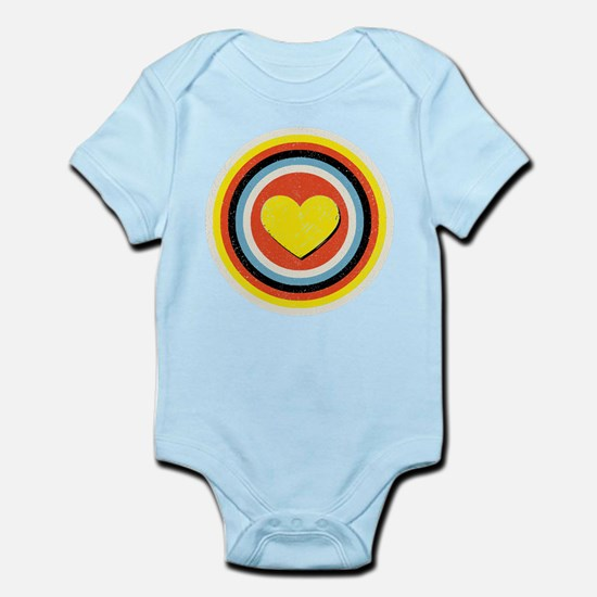 Bullseye Heart Infant Bodysuit
