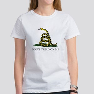 Don't Tread On Me Snake Women's T-Shirt