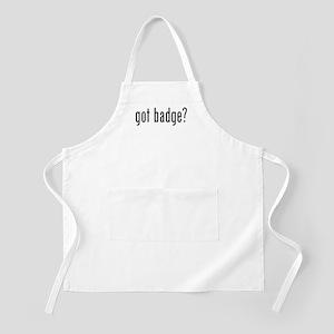 got badge? BBQ Apron