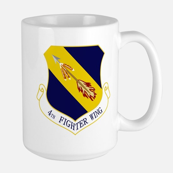 4th Fighter Wing Large Mug