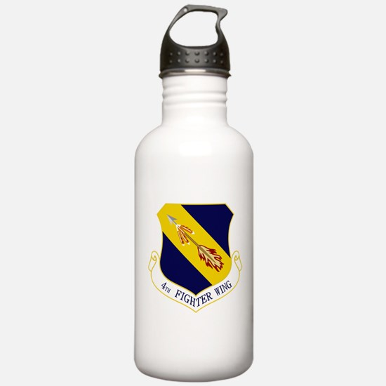 4th Fighter Wing Water Bottle