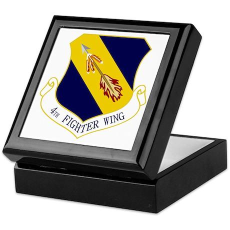 4th Fighter Wing Keepsake Box