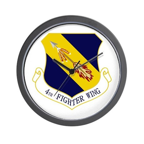 4th Fighter Wing Wall Clock