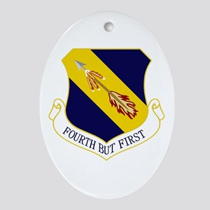 4th Fighter Wing Ornament (Oval)