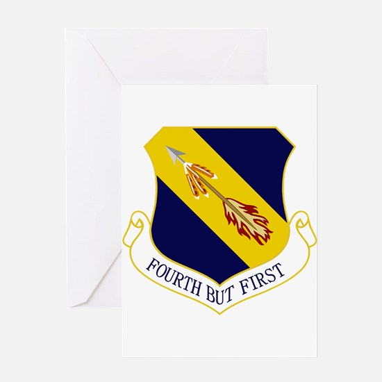 4th Fighter Wing Greeting Card