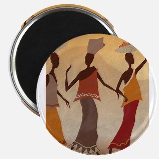African Women Magnets