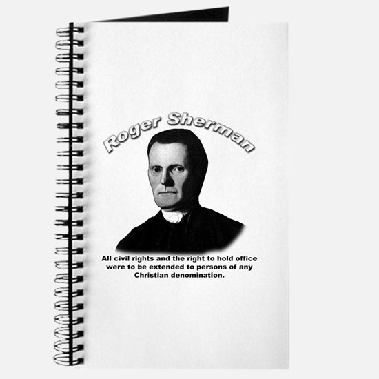 Roger Sherman 01 Journal