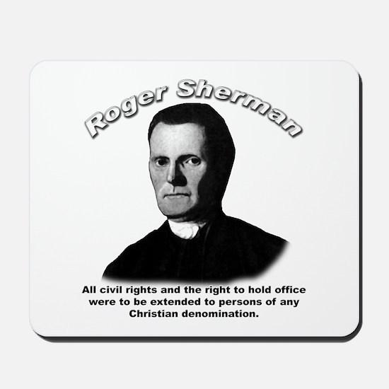Roger Sherman 01 Mousepad