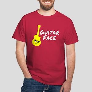 Guitar Face Dark T-Shirt