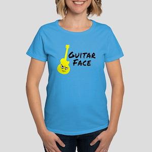 Guitar Face Women's Dark T-Shirt