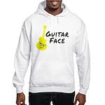 Guitar Face Hooded Sweatshirt