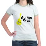 Guitar Face Jr. Ringer T-Shirt