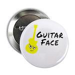 """Guitar Face 2.25"""" Button"""
