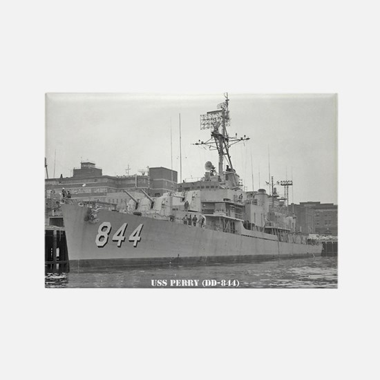 USS PERRY Rectangle Magnet