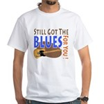Blues for You White T-Shirt