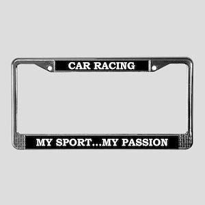 Car Racing License Plate Frame