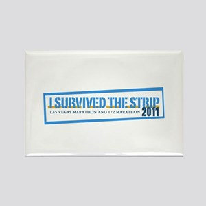 Survived the Strip Rectangle Magnet