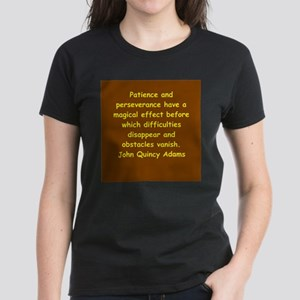 john quincy adams Women's Dark T-Shirt