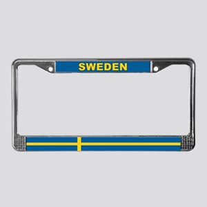 Sweden World Flag License Plate Frame