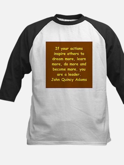 john quincy adams Kids Baseball Jersey